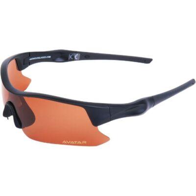 Napszemüveg Avatar Shield fekete HD polarizált lencsével