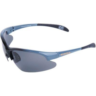 Napszemüveg Avatar War Master fekete-szürke polarizált lencsével