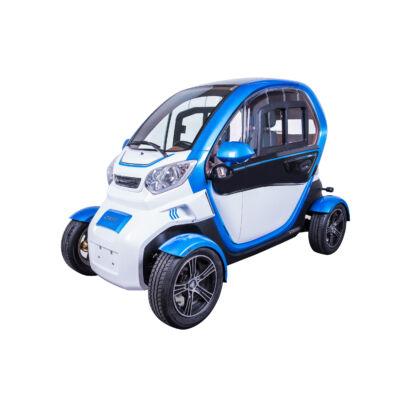 ZT-96 4 kerekű e-mopedautó fehér-kék