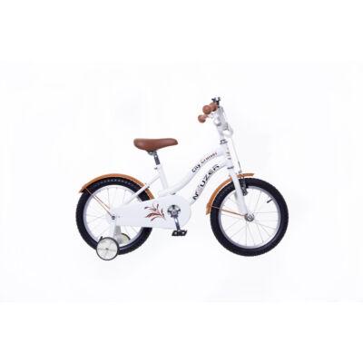 """Neuzer 16""""-os gyerek bicikli Cruiser lány fehér"""