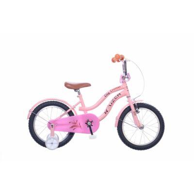 """Neuzer 16""""-os gyerek bicikli Cruiser lány rózsaszín"""
