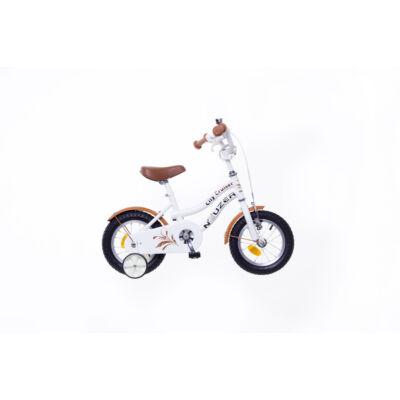 """Neuzer 12""""-os gyerek bicikli Cruiser lány fehér"""