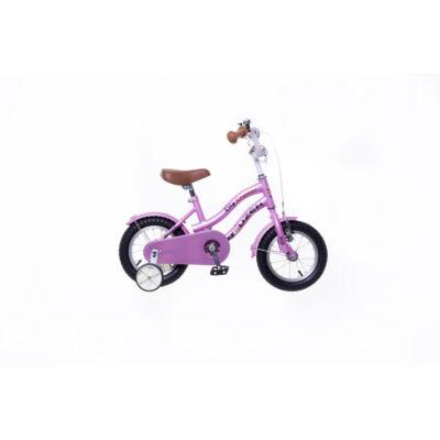 """Neuzer 12""""-os gyerek bicikli Cruiser lány rózsaszín"""