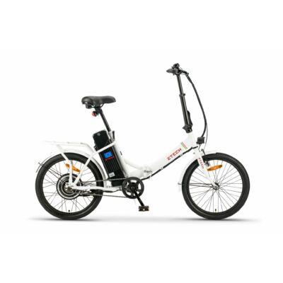 """Z-Tech 20""""-os Pedelec Kerékpár ZT-88 Camp Összecsukható 250W 36V 9Ah Fehér"""