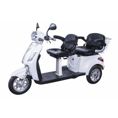 Tricikli Ztech ZT-18 Trilux 60V/20Ah/1000W/ Fehér - Használt termék