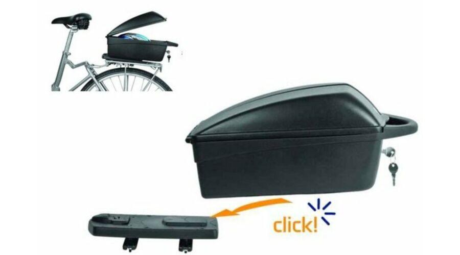 Elektromos kerékpár csomagtartó doboz
